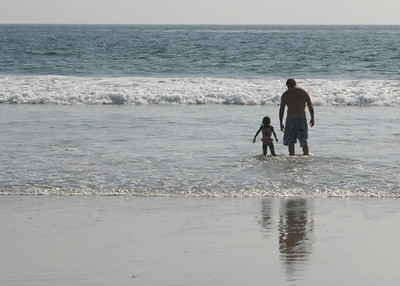 Beach trip for World Beat Sangha