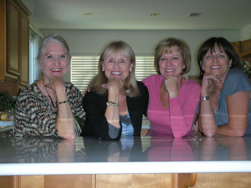 Birthday Celebration October 29, 2011 at Judy's in Temecula, Ca.<br /> Donna Peters, Susan Lance, Judy Strachan, Jackie Wayman