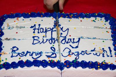 Benny and Agoston Birthdays 2013