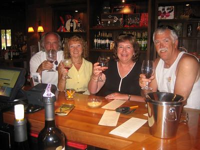 Wine tasting in the Firestone Winery