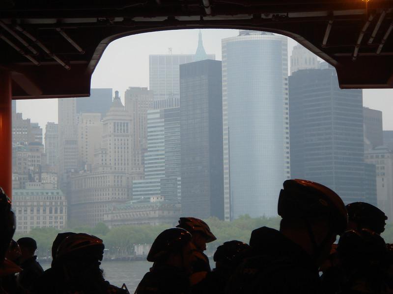 Bike NY 2009 (gray & rainy)