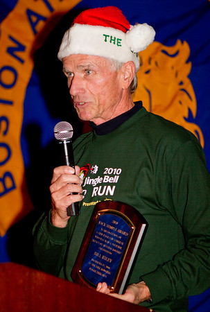 Bill Rodgers Jingle Bell Run - December 12, 2010
