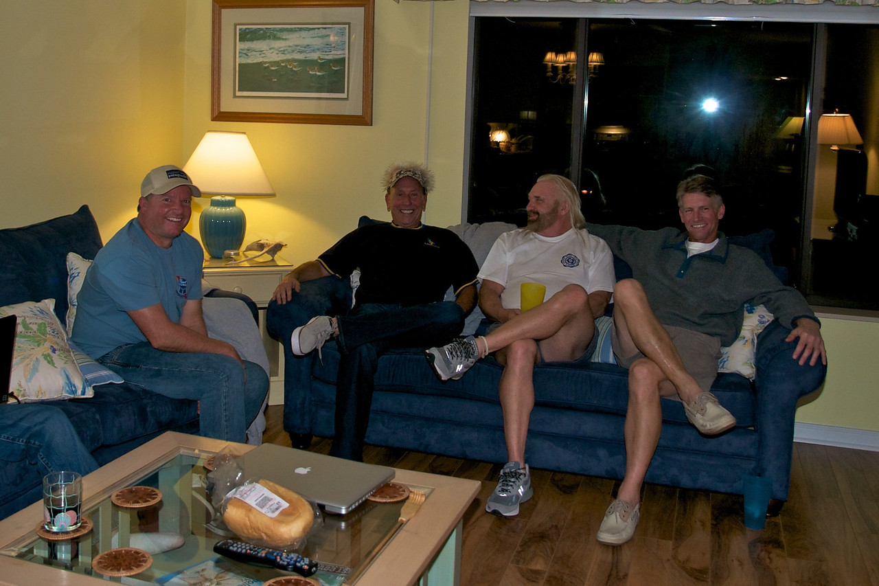 From the Left: Ron Butler, Stuart Allen, Art McMurtrey, Alan Straughan