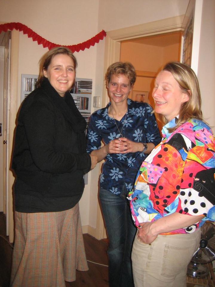 Caro, Astrid and Femke