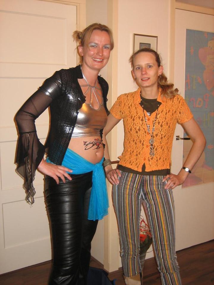 Petra welcomes Heike