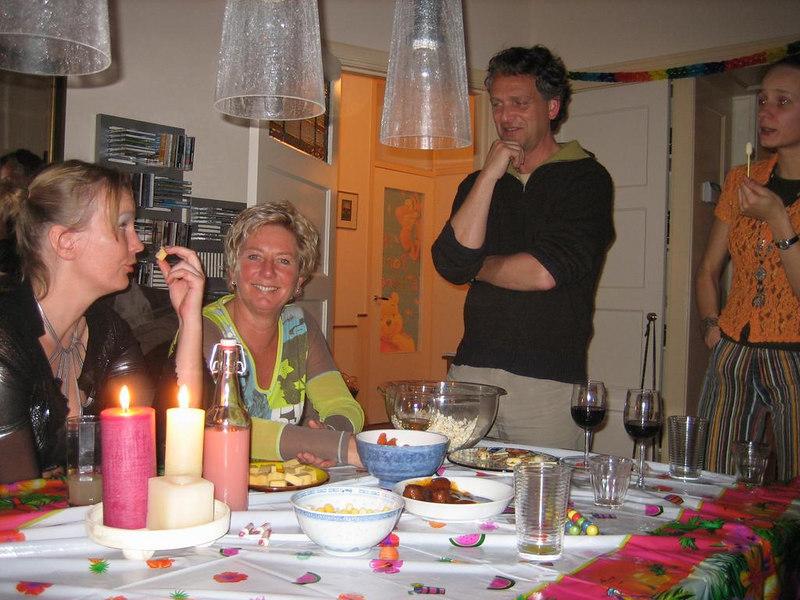 Petra, Marianne, Aad and Heike