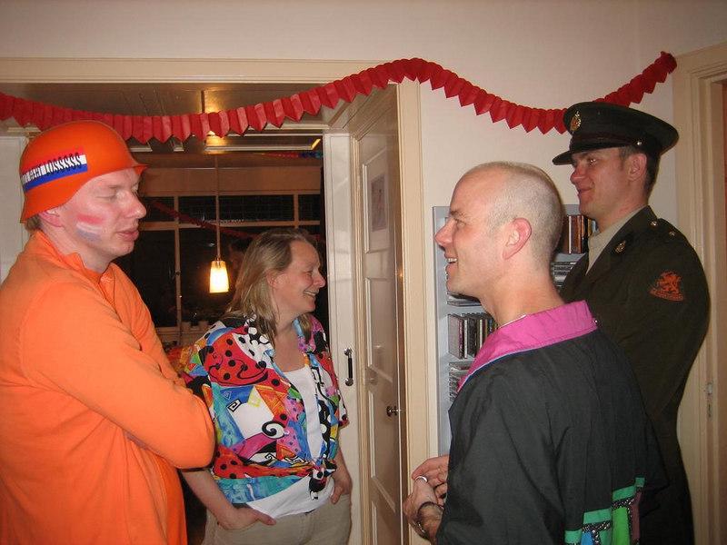 Rob, Femke, Martin and Sjoerd