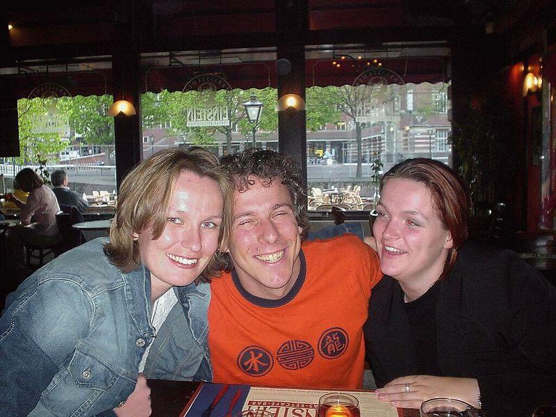 Petra, Mirella and I