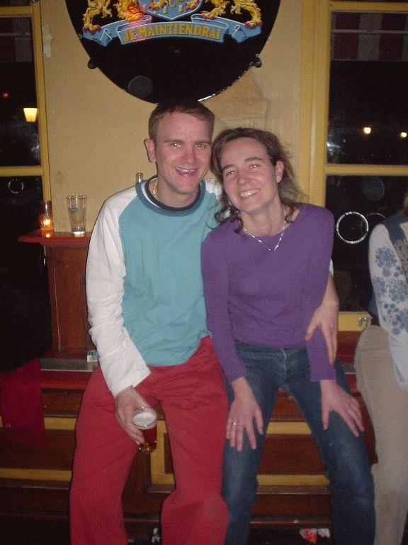 Sjoerd and Ingeborg