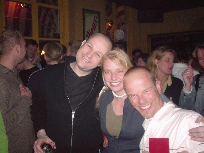 Sander, Wietske and Martin