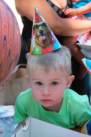 Brandon's 3rd birthday (June 2009)