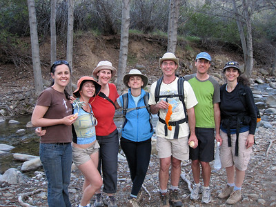 Melanie, Melanie, Teresa, Diyana, Matt, Dave & Wendy