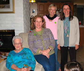 Jean, Melanie, Dorothe & Christine