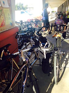 Invasion by bikes