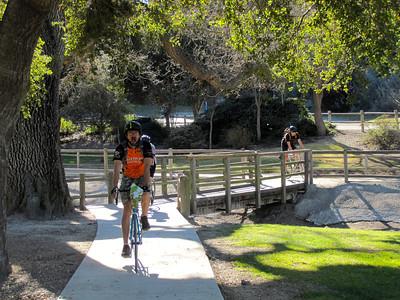 Break at the park in Los Alamos