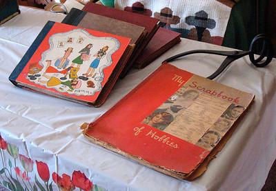 Jean's scrapbooks