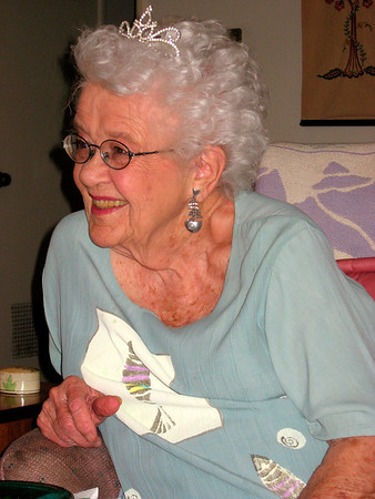 Jean's 87th birthday (July 2008)