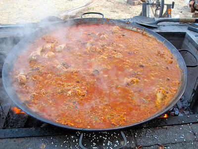 Paella is ready!