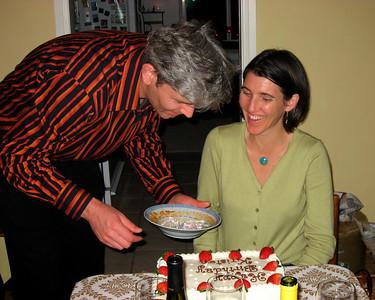 Kristin and her husband Arie Jan