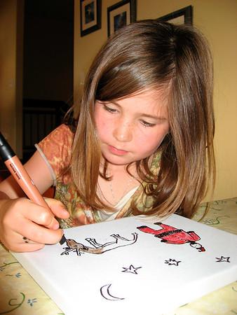 KidzArt: Ella's 8th birthday (12/2006)