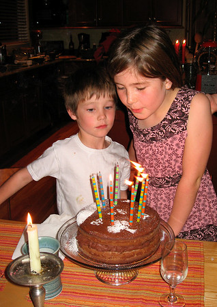 Ella's 9th birthday (12/2007)