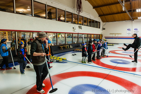 Alexander curling birthday party