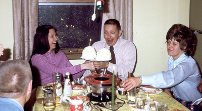 Jim had a birthday (40?) - the parties have continued for many years