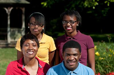 Blackmon Family at Holomb Gardens July 2013