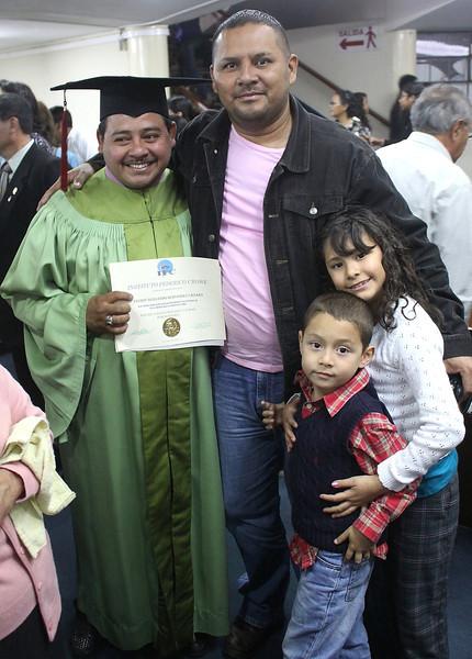 Freddy and pastor Ignacio, Jackie and Nehemias.  ...