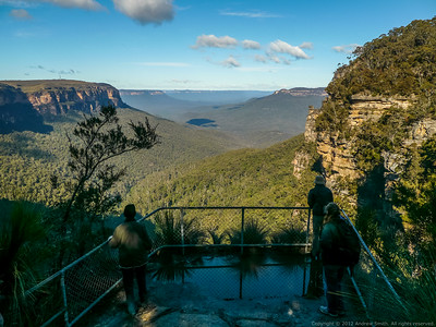 The view from Queen Victoria Lookout, Valley of the Waters.