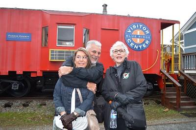 Brenda, David & Judy