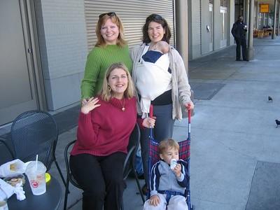 Boa Meet Up: 4/20/05--Marisa, Rebecca and me