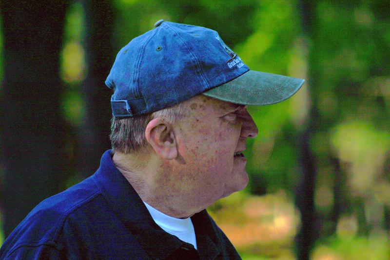 While his health didn't allow vigorous exercise, Bob enjoyed being outdoors.