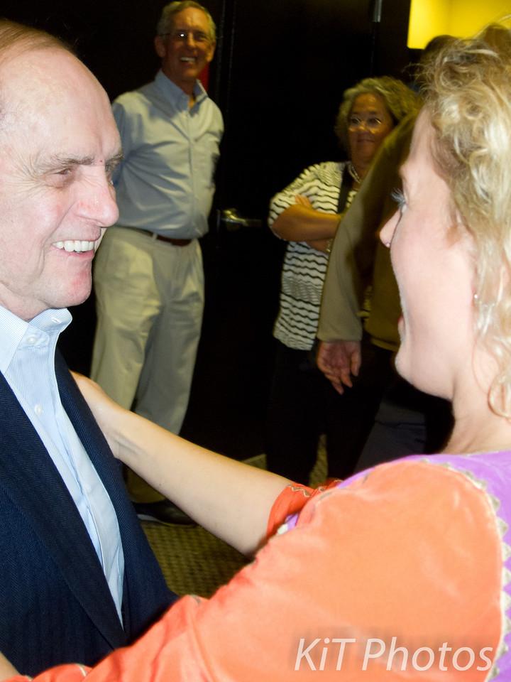 Julie meets Bob Newhart