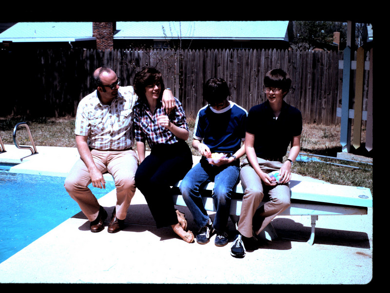 It was the summer of 1983, Bob, Anne, Mike and Greg Oehrtman visiting the Millers in Jenks, Oklahoma.<br /> <br /> Always one for adventure and economy, Bob encouraged us to accept weekend invitations to join them for time-share and land sales pitches.  We always managed to have a good time at those outings -- even if we weren't prime customers for the sales pitches!