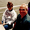 During their 1990 visit to South Dakota -- we made good on our long-standing plans to take a cruise.  Instead of a <b>real</b> sea cruise, we settled for a short trip down the Missouri River!  Despite heavy winds, our excursion on a small steamer out of Yankton was a fun outing.