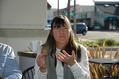 Gigi, hmmm good cookies!