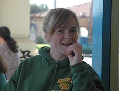 Brindley, Lyn's daughter Bob's granddaughter.