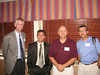 8th Overset Grid Symposium:  (left-to-right) Pieter Buning (NASA LRC), Jeff Slotnick (Boeing), me, and Ray Gomez (NASA JSC).