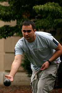 Adam Muda, 2007 Bocce Champion