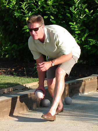 Bocce Ball Tournament, June 2006