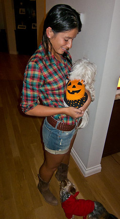 Dominique and David's Halloween Party