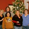 Sheryl, Lisa, Rocio, Trina & Sheryl at Ginny's house.