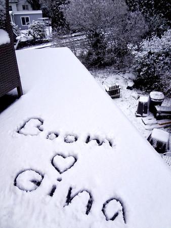 Boom took photos in snow December, 2013