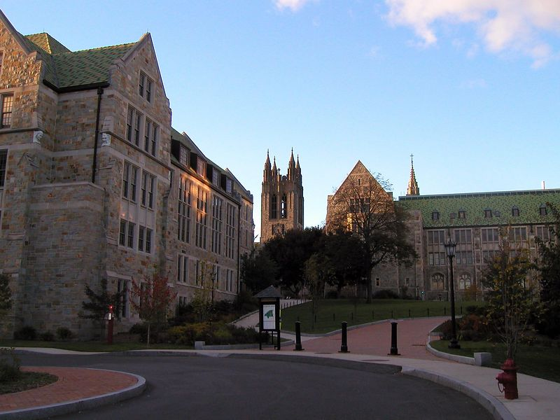 Boston College Campus, My Alma Mater