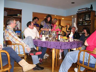 Friends: Barry, Jim, Martin, Susan, Sharon, Paul, LInda