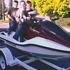 2004 Honda Aquatrax first day
