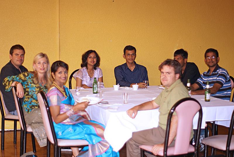 ?, Mila, Amrutha, Ramya, Kaushik, Bernardo, Srinath, ?