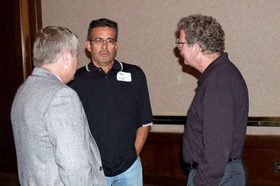 John Gately, Fred Nino, and Mike Redding