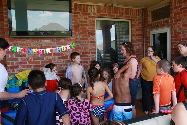 Braydon and Jess's Birthday Partys